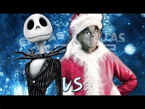 imagenes de epicas batallas de rap del friquismo jack skeleton vs el grinch 201 picas batallas de rap del