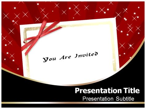 Templates For Powerpoint Invitations | powerpoint invitation templates enaction info