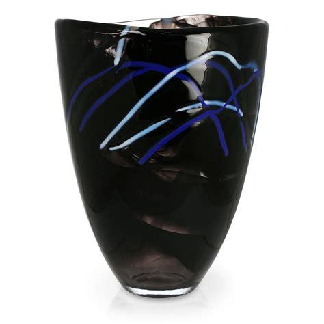 Kosta Boda Contrast Vase by Kosta Boda Contrast Vase Black S Of Kensington