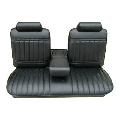 split bench seat cover pui 71us10b1 black front split bench seat cover 1964 72 skylark gs