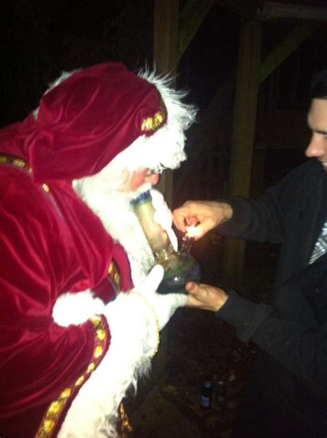 Merry Go Mmj santa getting ready for the big marijuana