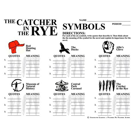 good themes for catcher in the rye symbols used in catcher in the rye video search engine