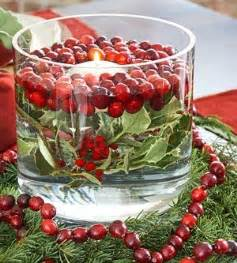Cranberry Vase Christmas Countdown Day 15 Christmas Centerpieces B
