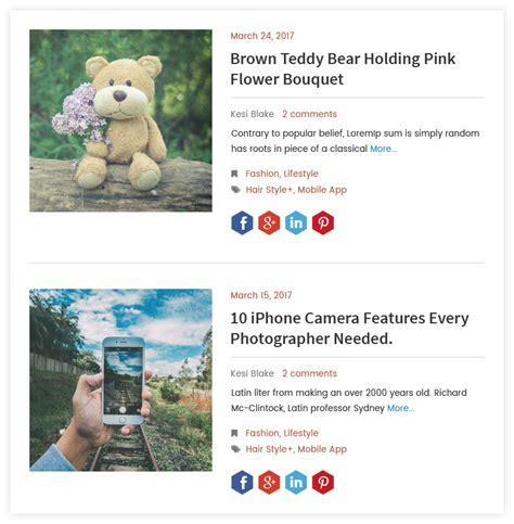 Magazine Layout Blog | blog designer wordpress blog layout plugin blog design