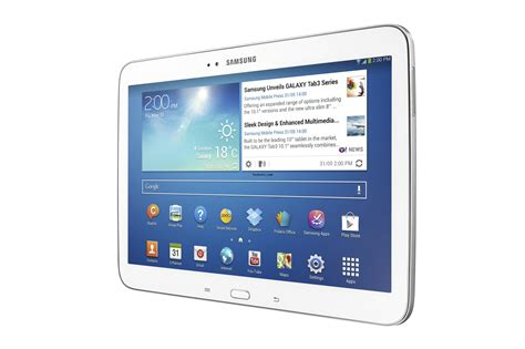samsung galaxy tab 3 10 1 tablet specifications