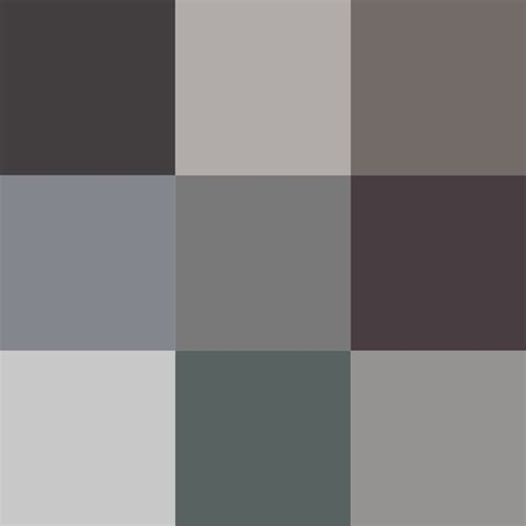 different colors of grey different colors of grey