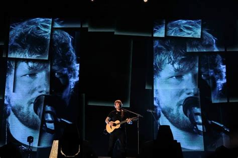 ed sheeran refund photos ed sheeran lights up moa concert grounds