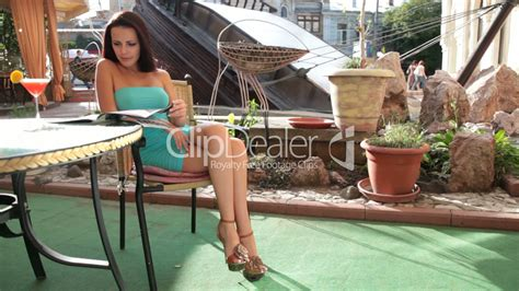 zales commercial actress brunette restaurant table relax at cafe royalty free video and stock footage