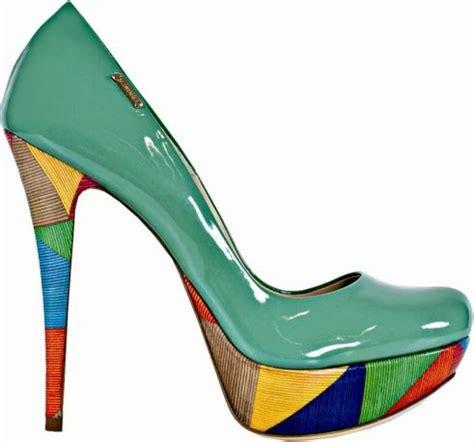 multi colored pumps shoes multi colored heel platform pumps