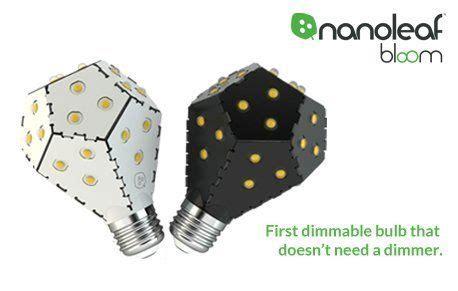 Nanoleaf Bloom Maple 1200 Lumens 10w po芻et n 225 pad蟇 na t 233 ma gl 252 hbirne e27 na pinterestu 1000