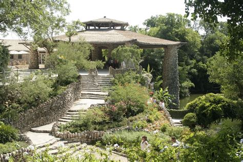 San Antonio Japanese Tea Garden by San Antonio Japanese Tea Garden Botanic Garden In San