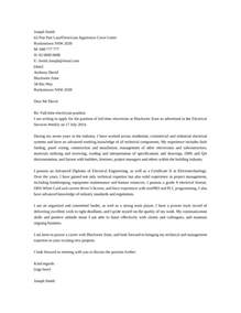 Application Letter For Maintenance Electrician Basic Industrial Electrician Cover Letter Samples And