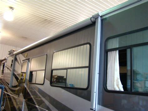 electric awning rv rv parts used electric patio awning for motorhome rv s