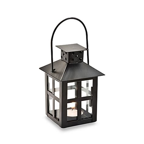 Wedding Favors Lanterns by Kate Aspen 174 Mini Lantern Black Tealight Holder Wedding