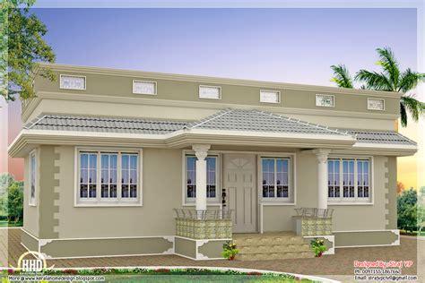 1000 Sqfeet Kerala Style Single Floor 3 Bedroom Home