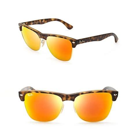 Rayban Mirror List Hitam ban mirrored clubmaster sunglasses rank style