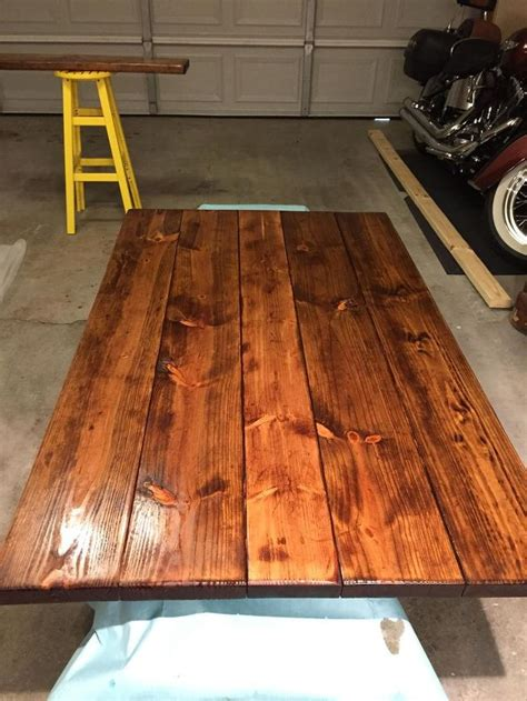 Diy Pete Farmhouse Table by How To Make Your Own Farmhouse Table Hometalk