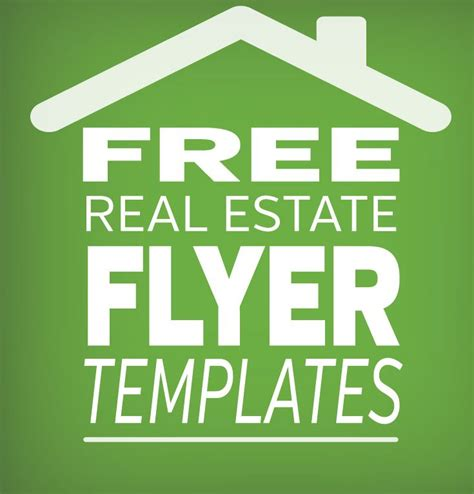 free real estate marketing templates free real estate flyer template click for great