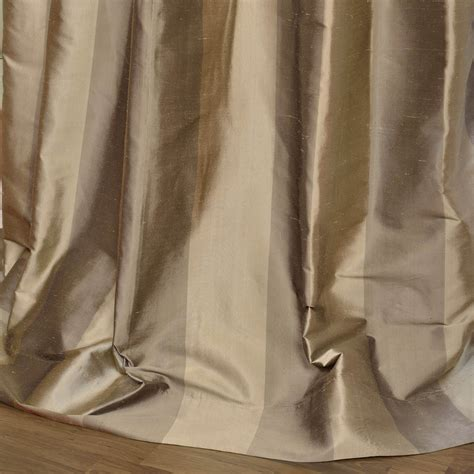 silk stripe drapes buy cairo haze silk stripe curtains designer curtains