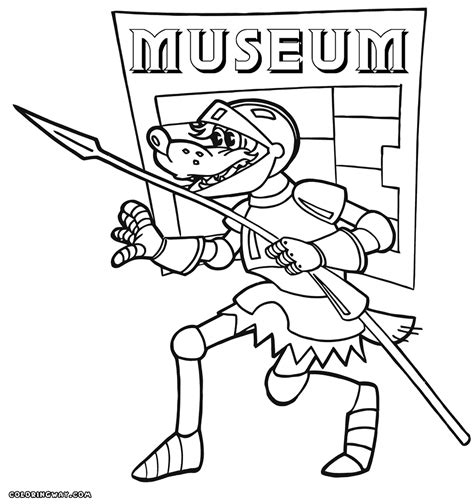 Museum Coloring Pages Coloring Pages To Download And Print At The Museum Coloring Pages