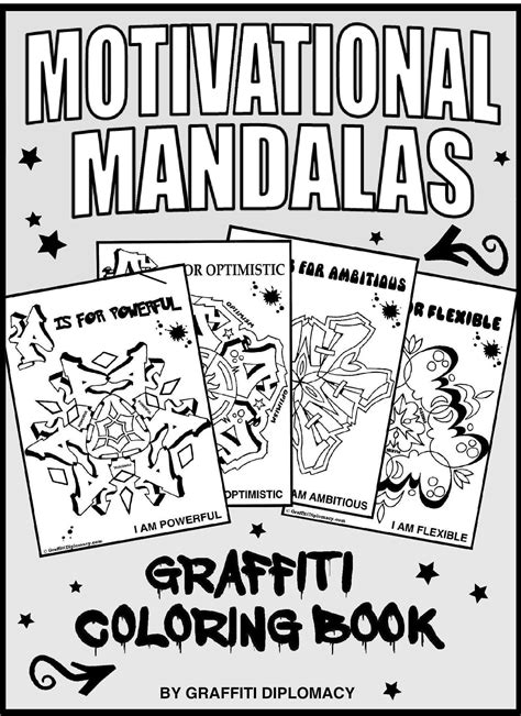 inspirational mandala coloring pages motivational coloring positive affirmations to print