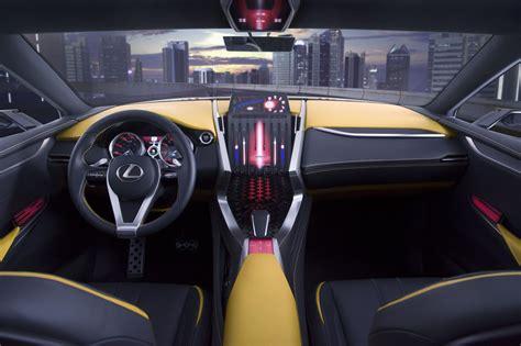 lexus lf nx interior lexus lf nx concept car at the tokyo motor show 2013