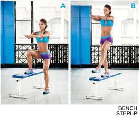 step bench exercises the secret to gorgeous glutes glute exercises do it do