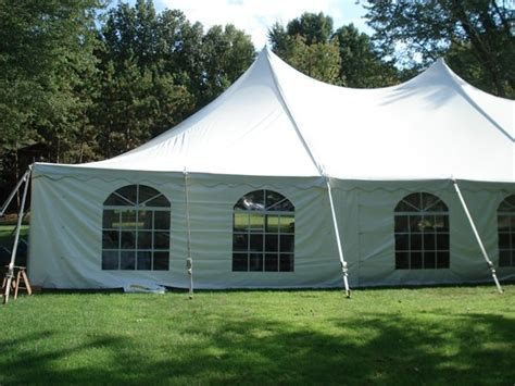 tall tent side curtains baker tent rental