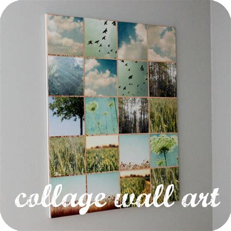 Decoupage Wall Ideas - diy outfitters inspired hometalk