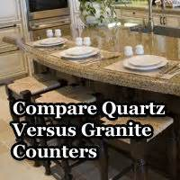 quartz vs granite countertop home