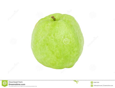 what color is guava guava green fruit color from tropical zone isolated