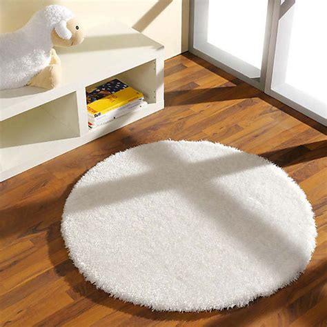 runder weisser teppich teppich shaggy rund wei 223 100 cm mytoys