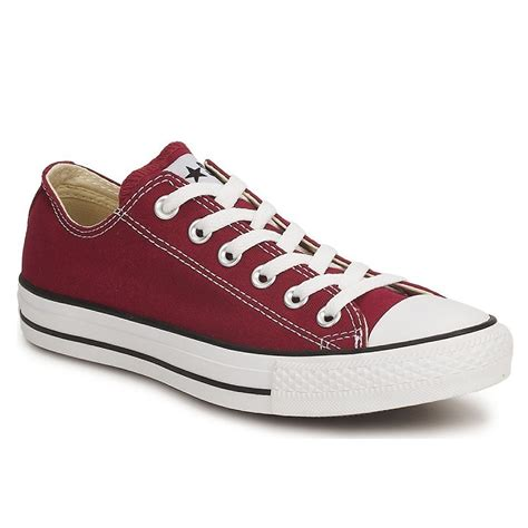 All Converse Low Maroon converse all low top maroon womens trainers ebay