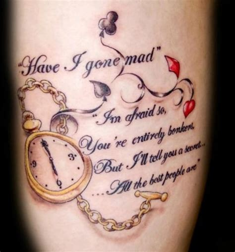 alice tattoo 30 alice in wonderland tattoo designs with meaning