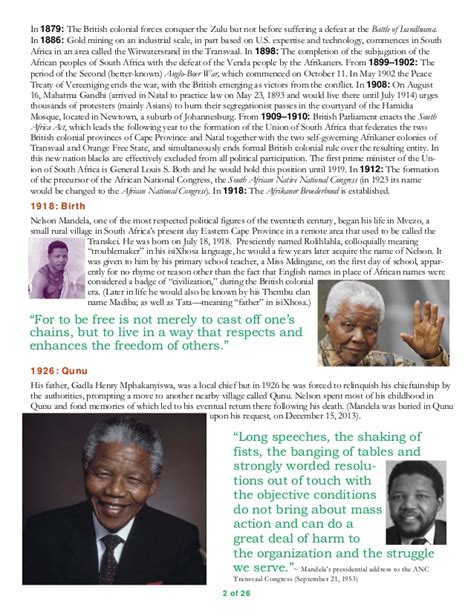 biography text nelson mandela nelson mandela 1918 2013 a biographical timeline in text