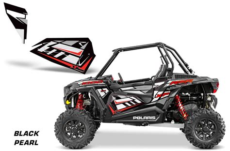 Rzr 1000 Lower Doors by Amr Racing Lower Half Door Graphics Kit For Polaris Rzr2