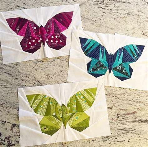 Paper Piecing Patchwork - best 25 butterfly quilt pattern ideas on