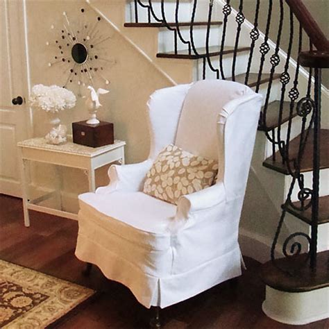 how to make a wing chair slipcover home dzine craft ideas how to slipcover or reupholster a