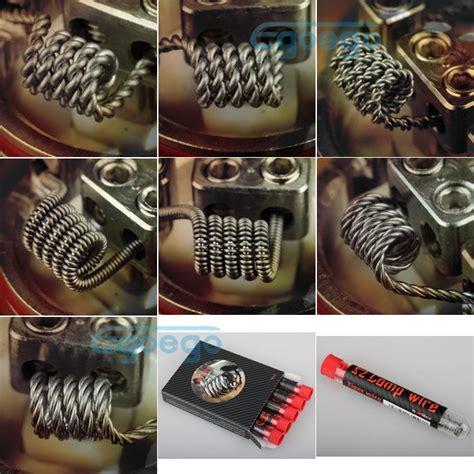 Coil Build Melo 3 Mini 05ohm 100 original wotofo comp wire diy coil wire rda rba