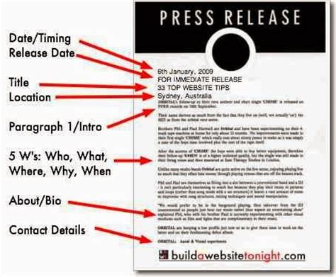 theatre press release template the world s catalog of ideas