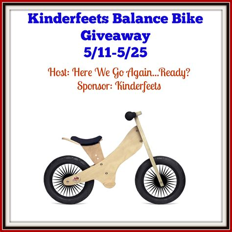 Two And A Half Men Sweepstakes - kinderfeets retro balance bike giveaway