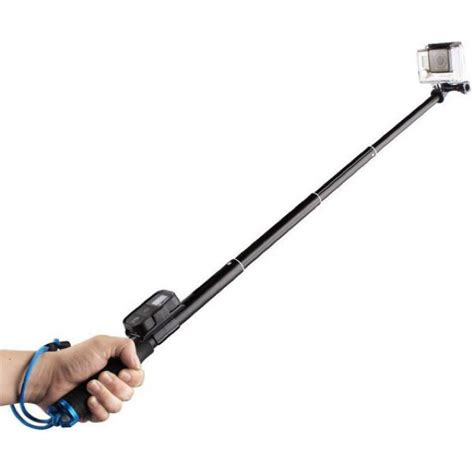 Jual Monopod With Wireless Remote Slot 93cm For Gopro Xiaomi jual monopod with wireless remote slot 93cm for