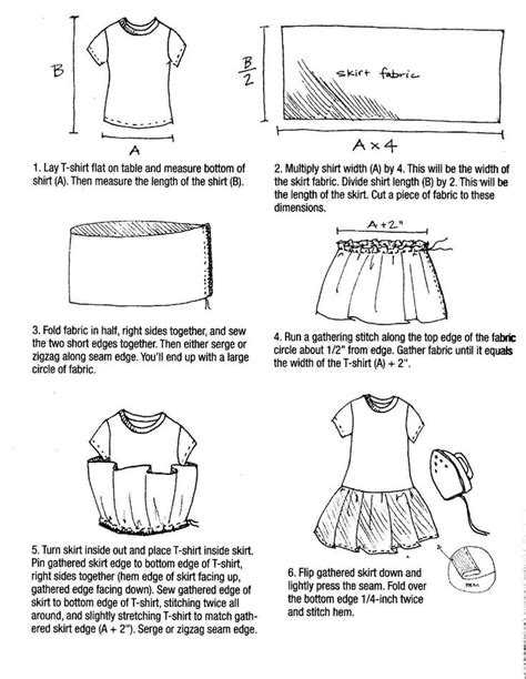 pattern making t shirt make a t shirt dress free pattern 0 american girl