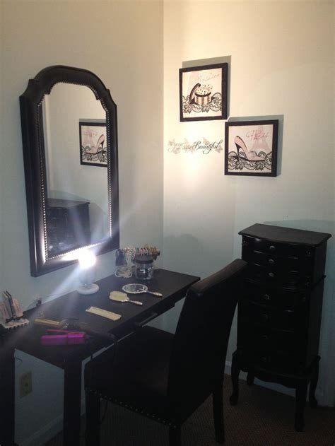 writing desk as vanity vanity from walmart writing desk mirror from home