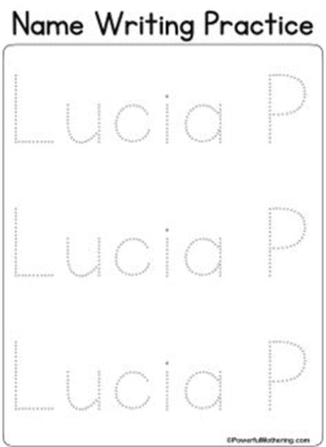free custom printable name tracing 1000 images about kids handwriting on pinterest