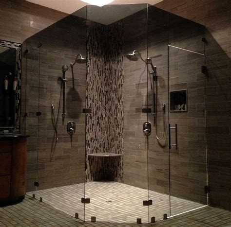 Smoked Glass Shower Doors Pin By Megan Hillier On Decor That Tickles My Fancy Pinterest