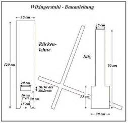 mittelalter stuhl of free celts bauanleitung wikinger steckstuhl