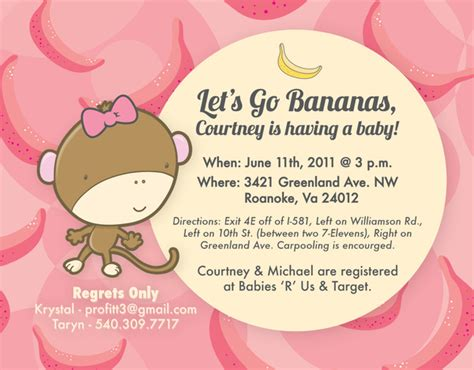Come With Me Baby Shower Invites by Come And Go Baby Shower Invitation Wording Theruntime