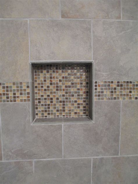 shower tile niche tile design ideas