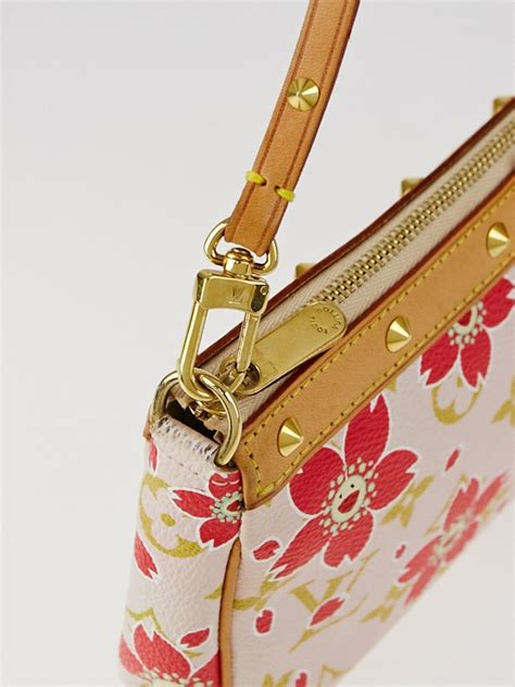 louis vuitton limited edition red monogram cherry blossom